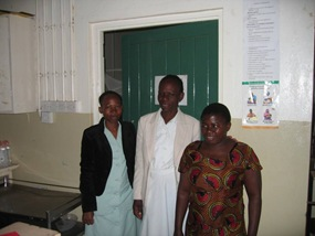 The Nurses Outside the Prem Baby Room
