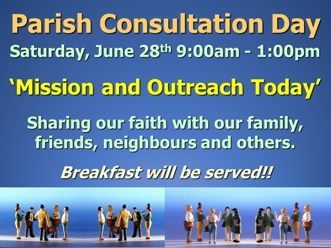 Parish Consultation Day (May 2014)