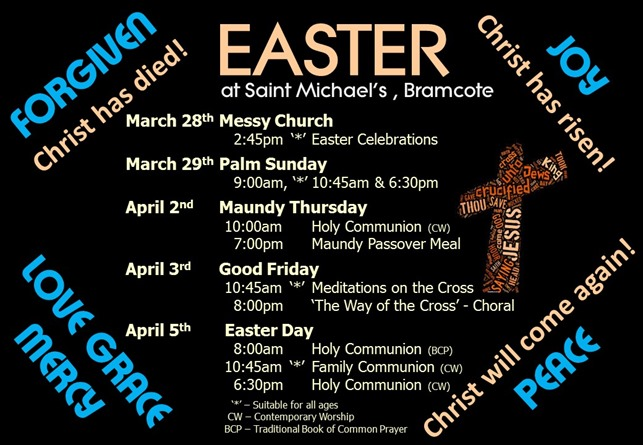 Easter Services Poster (2015)