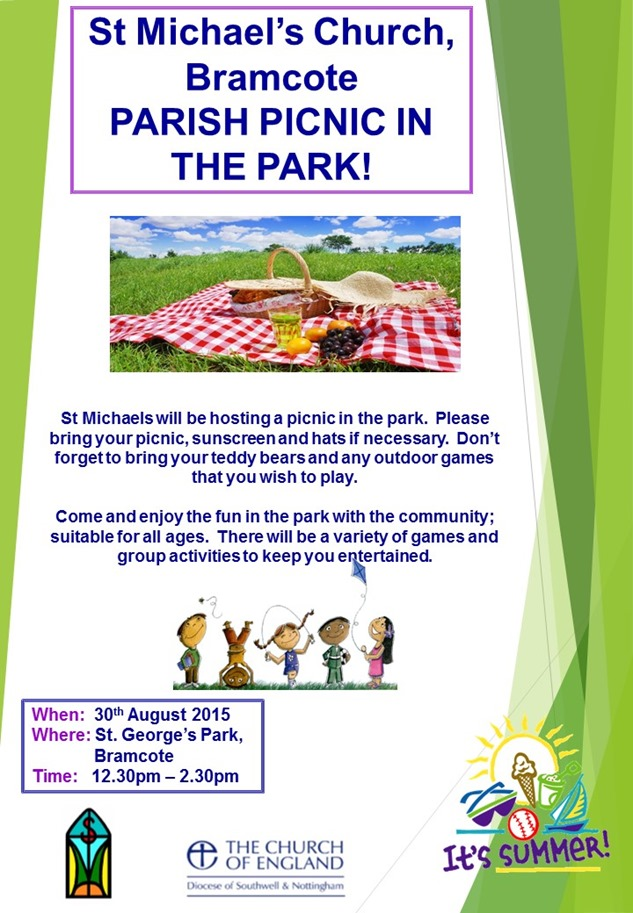 Parish Picnic 2015 Poster