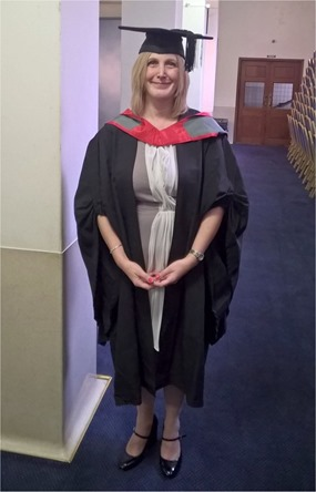 Lisa Buckley Graduation Photograph