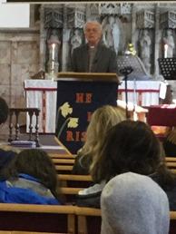 Tony Cardwell Preaching