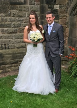 Couple in Churchyard