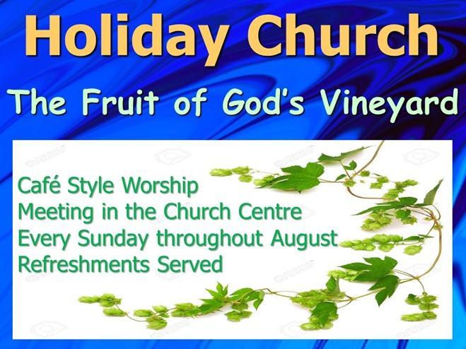 Holiday Church (2016) Notice