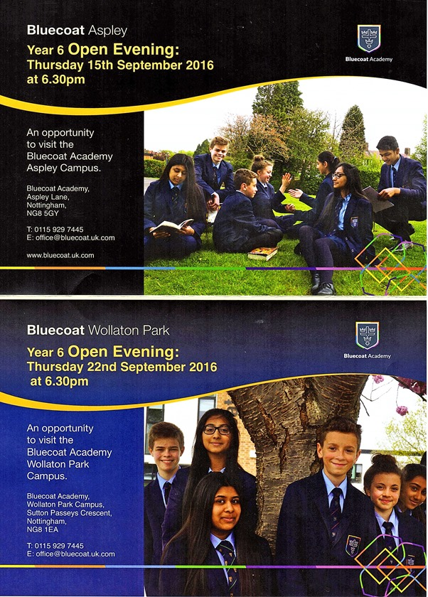 Bluecoat Open Evenings (2016)