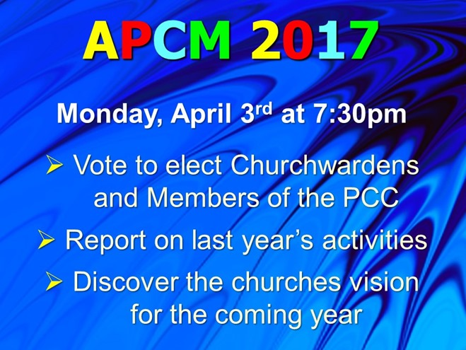 APCM (April 2017)