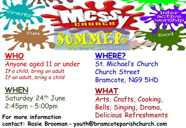 Messy Church - Poster (June 2017)