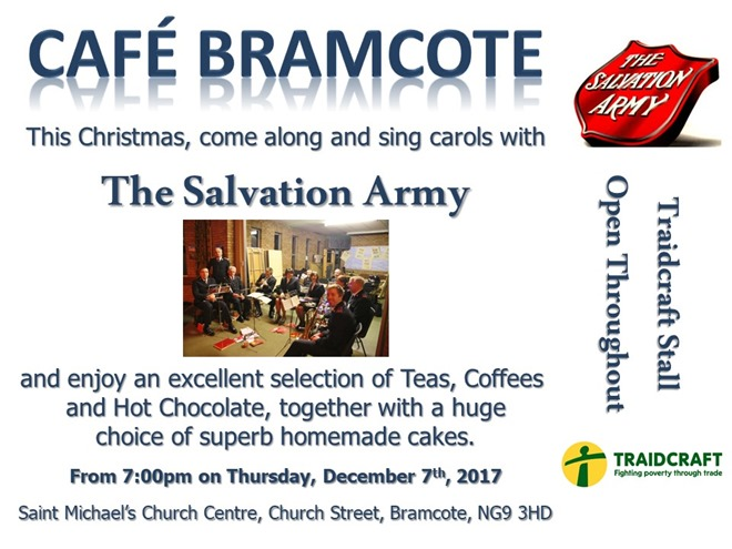 Salvation Army at Cafe Bramcote (2017)