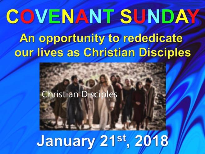 Covenant Service (January 2018)