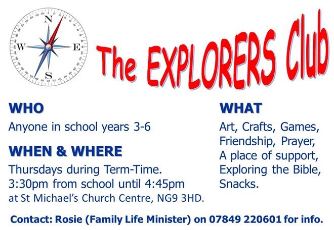 Explorers Club Flyer (2017)