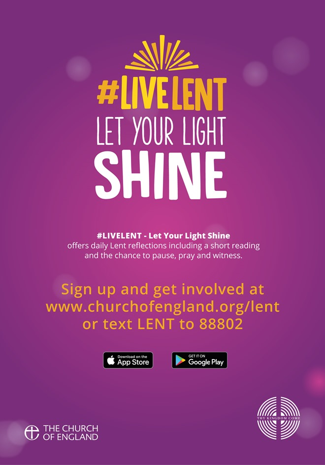 #LiveLent Poster 1