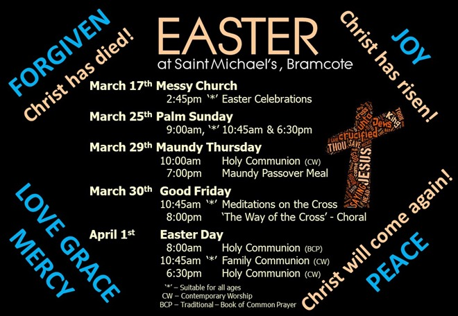 Easter Services Poster (2018)