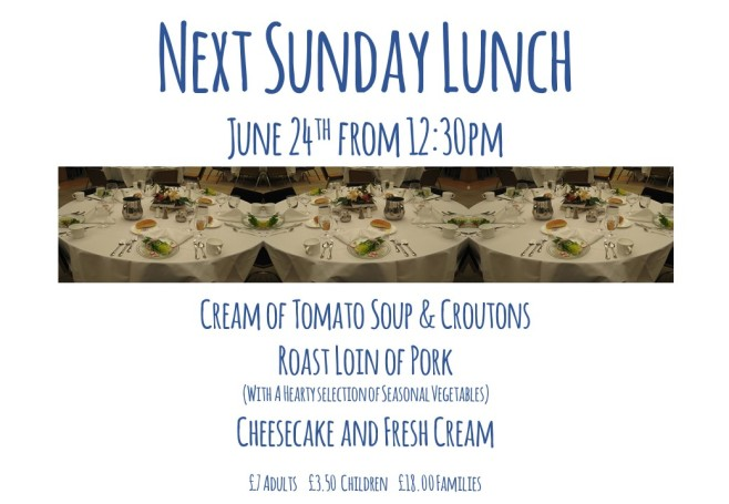 Sunday Lunch (June 2018) Landscape