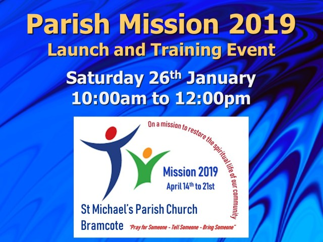 Parish Mission (2019) Flyer