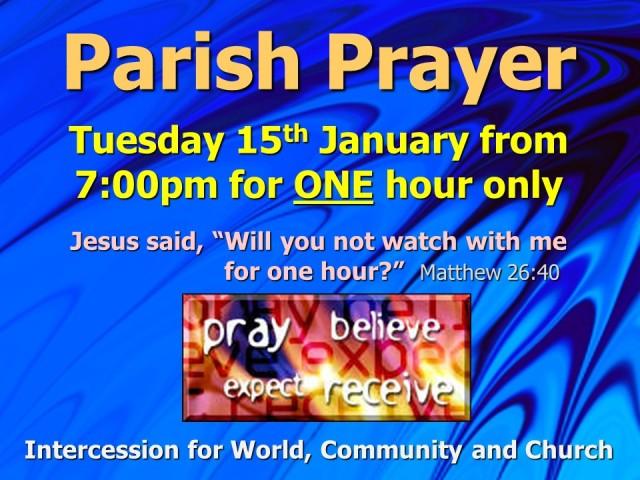 Parish Prayer (January 2019)