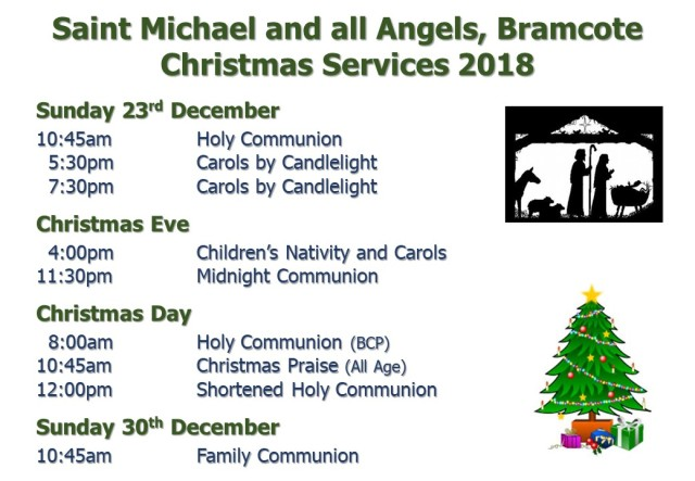 Christmas Services (2018) Flyer