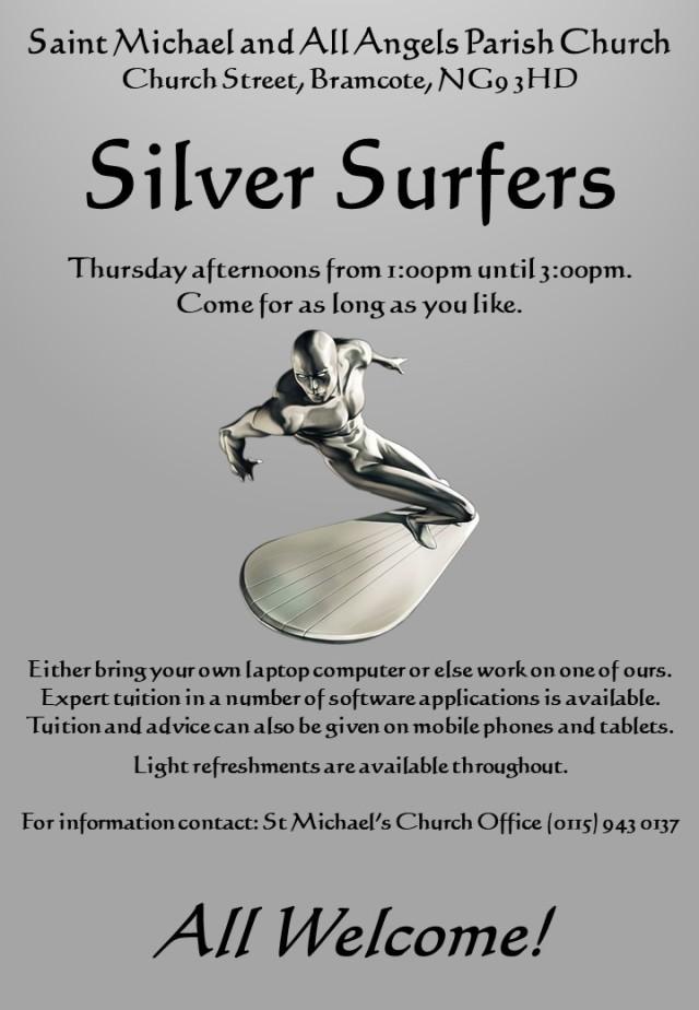 Silver Surfers Flyer (2018)